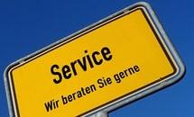 SERVICE UND SCHULUNGEN